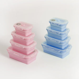 COLLAPSIBLE LUNCHBOX SINGLES - PINK