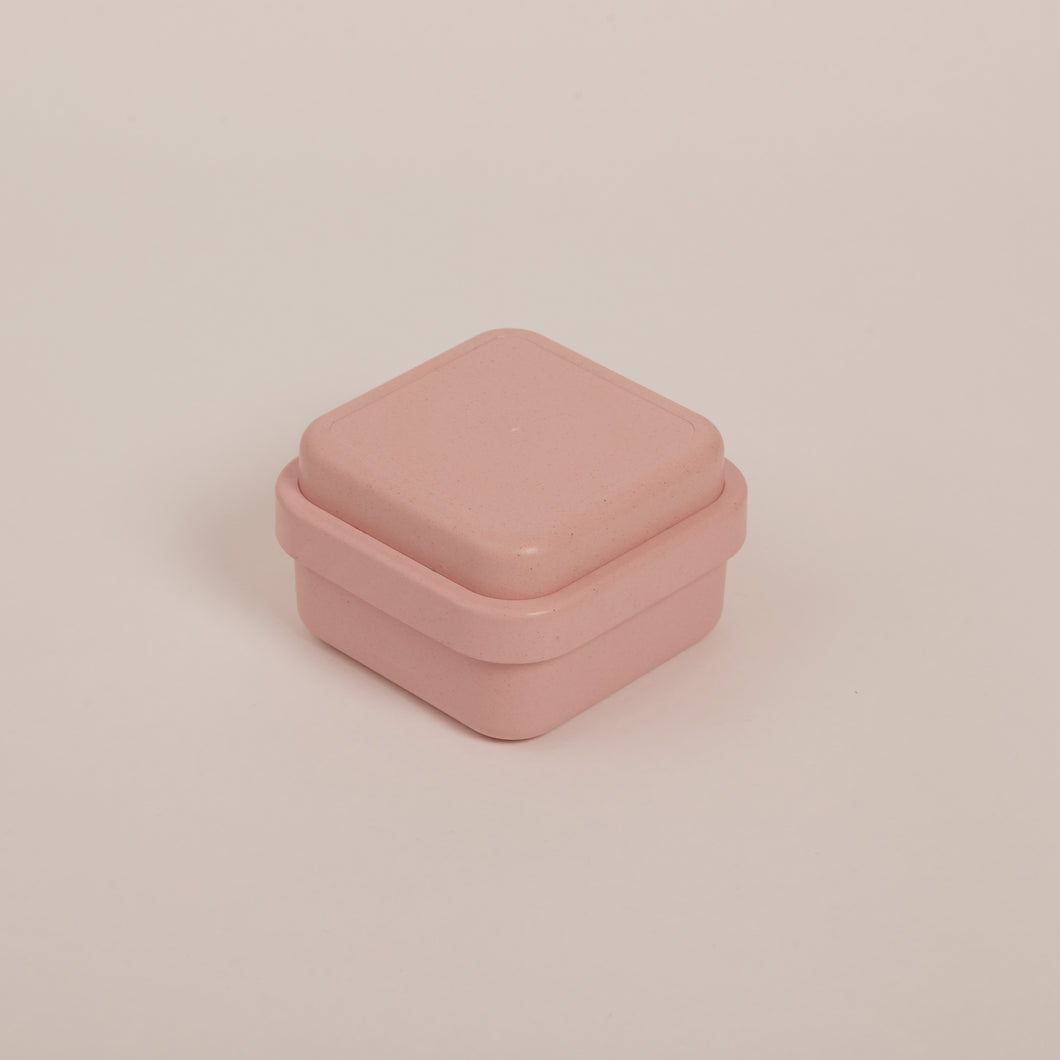 SQUARE BIODEGRADABLE BAMBOO FIBRE BENTO LUNCH BOX