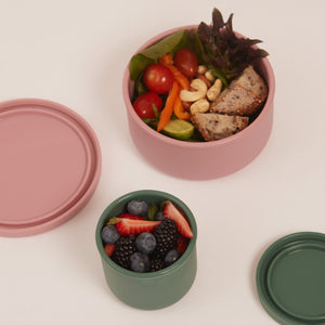 SUSTAINABLE SILICONE AIRTIGHT CONTAINERS - SMALL (250ML)