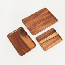 Load image into Gallery viewer, SUSTAINABLY SOURCED HAND CARVED WOODEN BOARDS - RECTANGLE