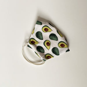 PREMIUM REUSABLE FACE MASK - FRUIT PATTERNS