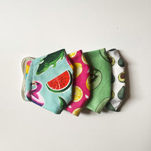 Load image into Gallery viewer, PREMIUM REUSABLE FACE MASK - FRUIT PATTERNS