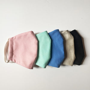 PREMIUM REUSABLE FACE MASK - LINEN