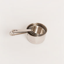 Load image into Gallery viewer, STAINLESS STEEL CUP MEASURE SET