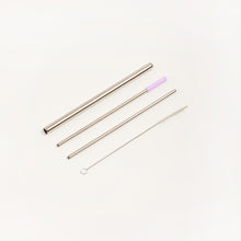 Load image into Gallery viewer, COMPLETE STAINLESS STEEL STRAW SET