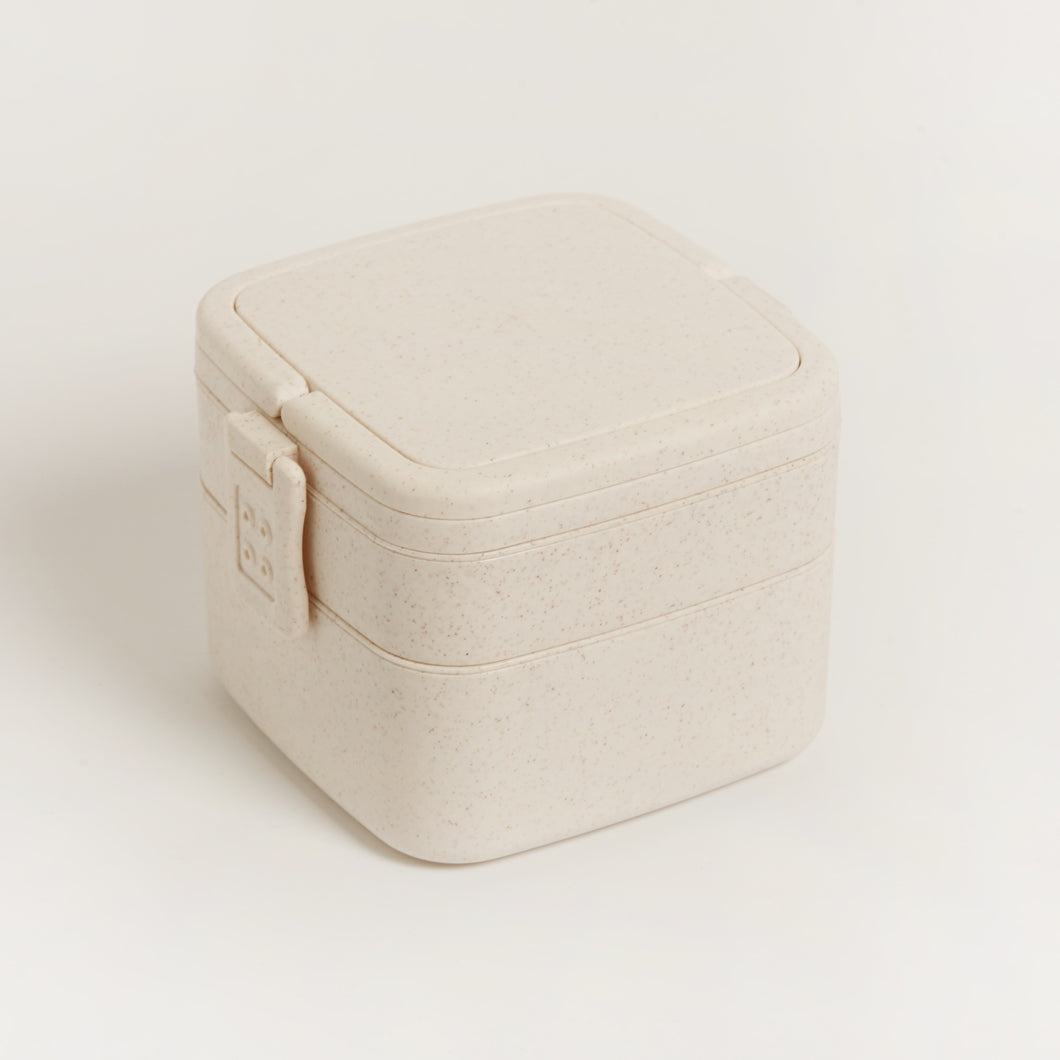 ECO-FRIENDLY BAMBOO FIBRE SANDWICH LUNCHBOX