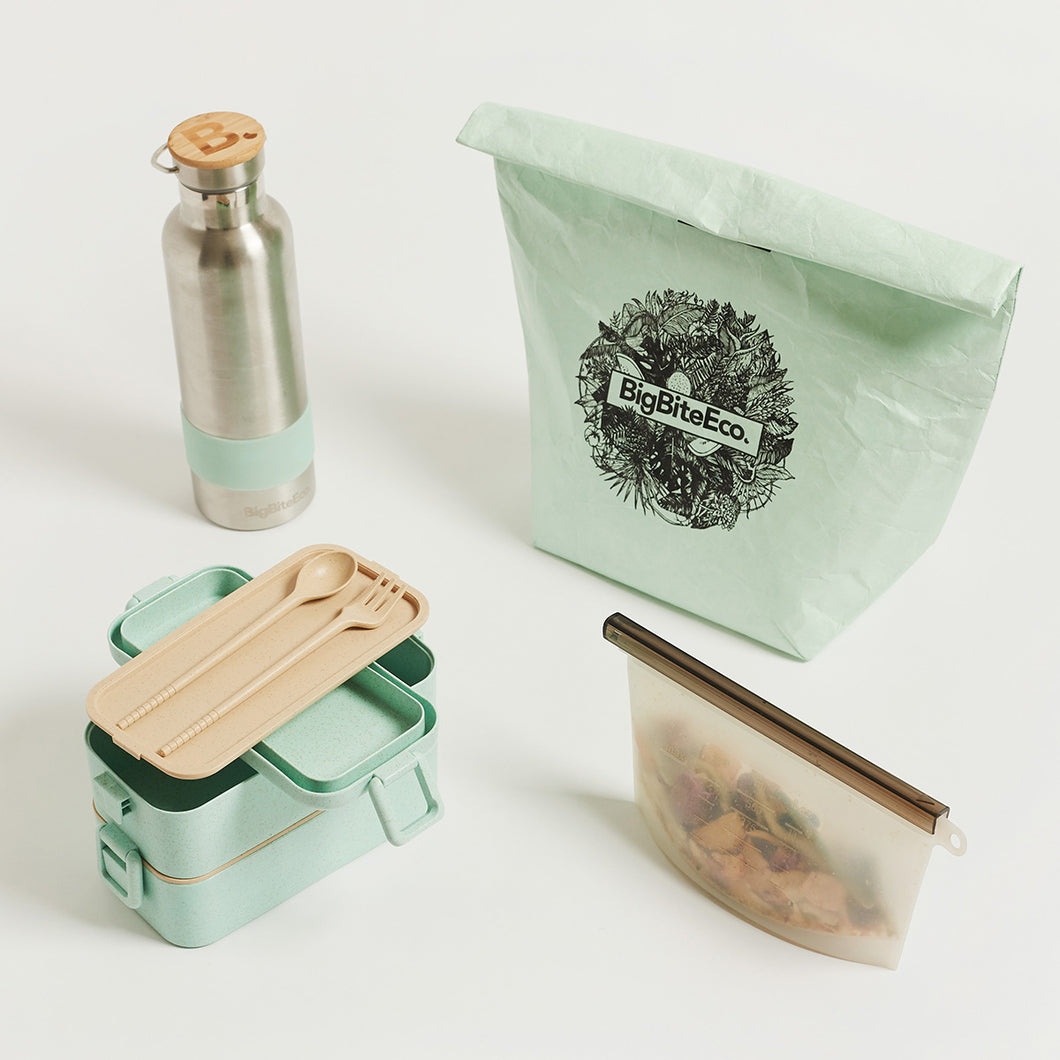 ZERO-WASTE LAYERED BENTO LUNCH SET - PRESALE DECEMBER