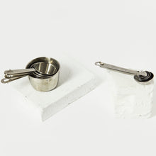 将图片加载到图库查看器,PLASTIC FREE STAINLESS STEEL MEASURING SPOON SET