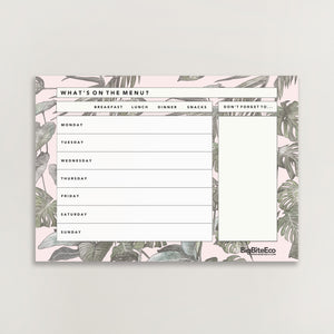 MONSTERA MAGNETIC MEAL PLANNER