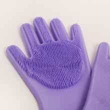 Load image into Gallery viewer, SUSTAINABLE SILICONE REUSABLE SCRUBBING GLOVES