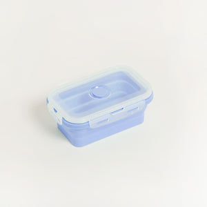 SUSTAINABLE SILICONE COLLAPSIBLE LUNCHBOX & STORAGE SET