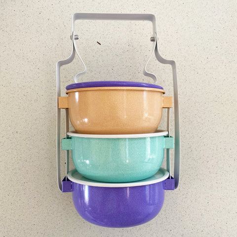Tiffin Lunchbox - 3 tier bowl  |  ONLY ONE AVAILABLE!
