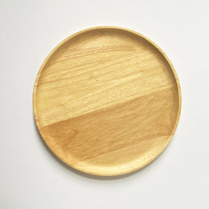 SUSTAINABLY SOURCED HAND CARVED WOODEN BOARDS - ROUND