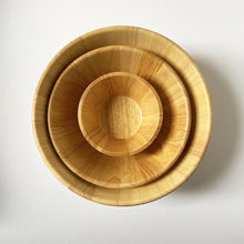 Load image into Gallery viewer, SUSTAINABLY SOURCED HAND CARVED WOODEN BOWLS