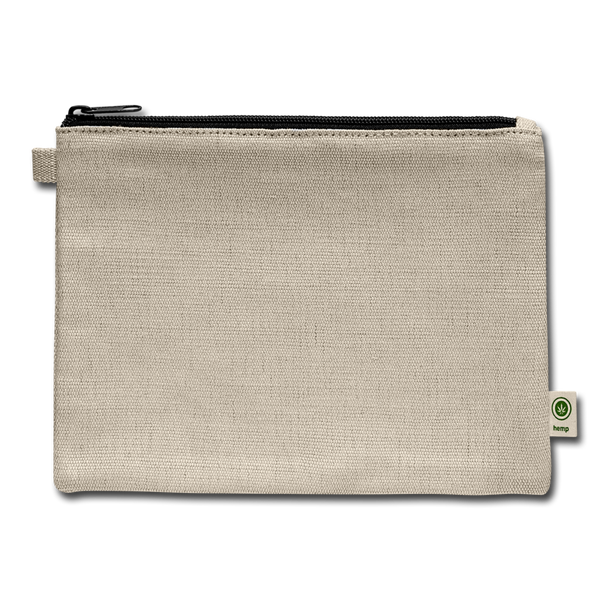 Carry All Pouch-test - natural