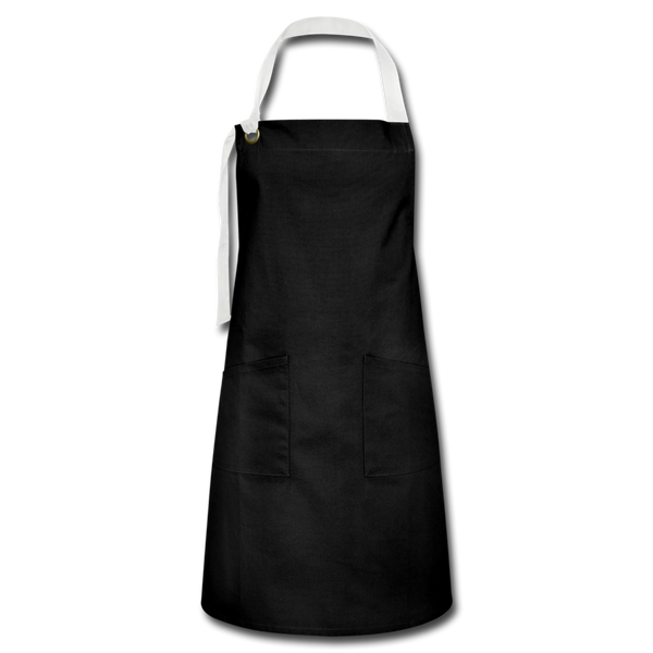 Artisan Apron - black/white