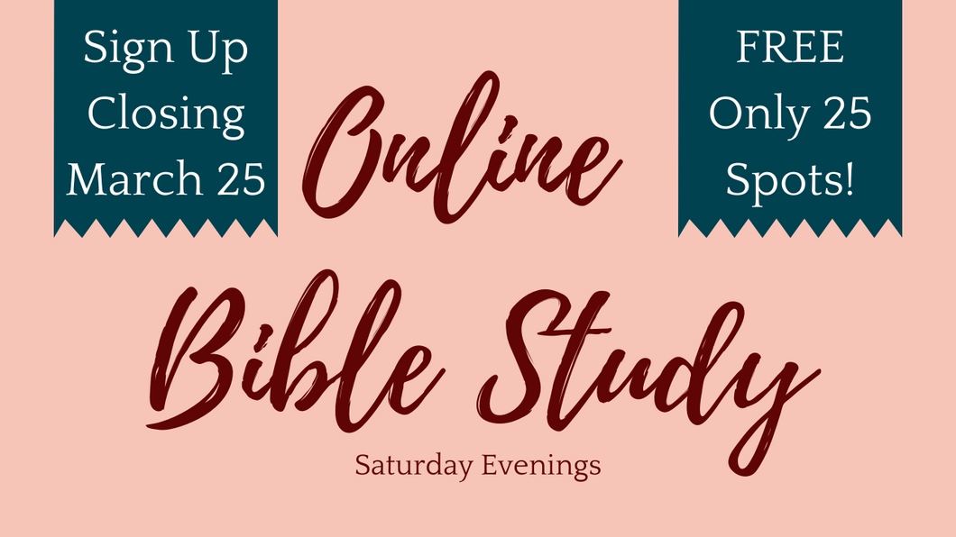 Online Bible Study | Strength & Dignity (Saturday Evenings)