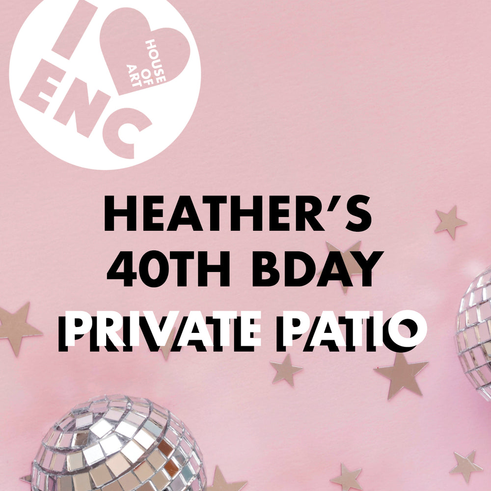 Load image into Gallery viewer, Heather's Private Patio Art Festivity - Dec 2