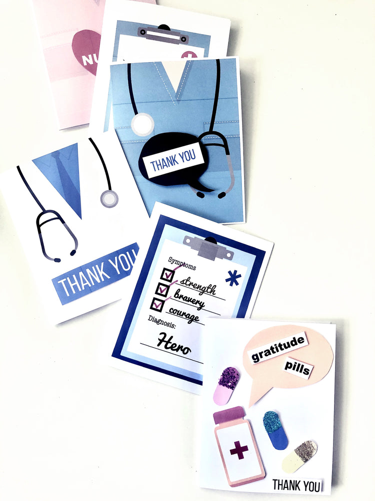 Card Making Kit - Our Medical Heroes