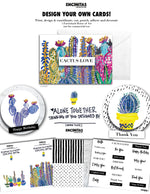 Card Making Kit - The Cactus Love Design Collection