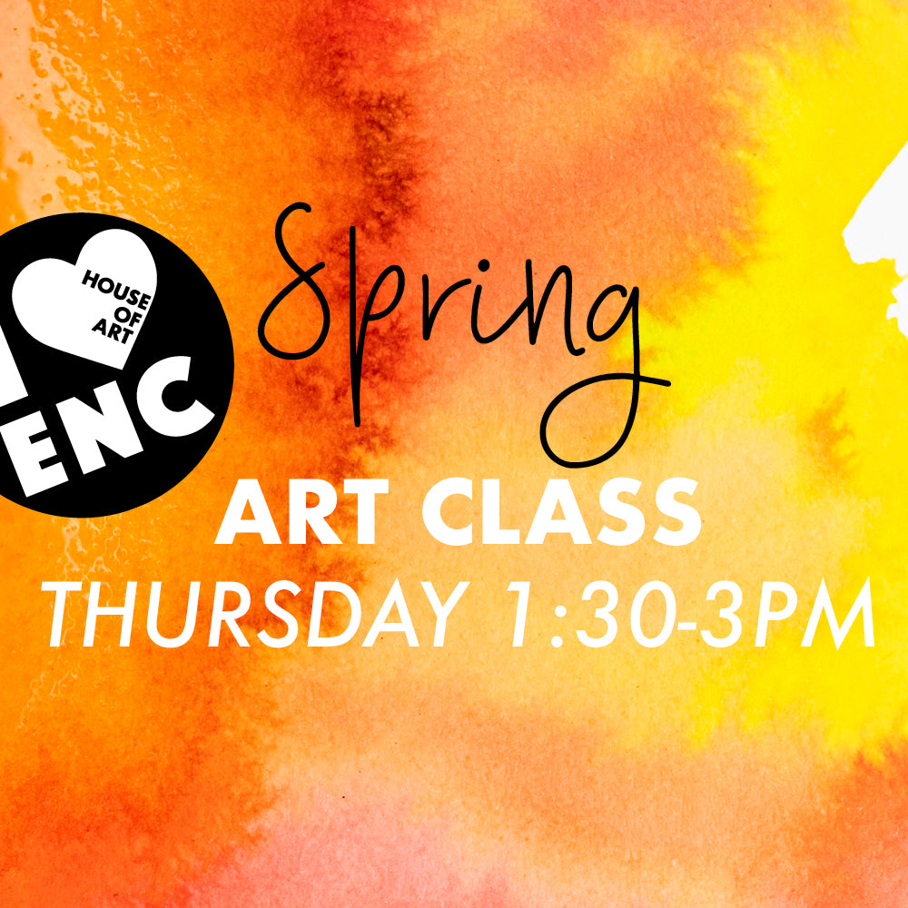 Spring Art Program - Thursday 1:30-3pm