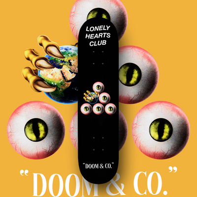 Doom & Co. Skate Deck