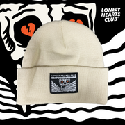 Lonely Hearts Skeleton Beanie