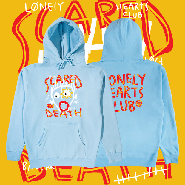 Scared To Death Hoodie