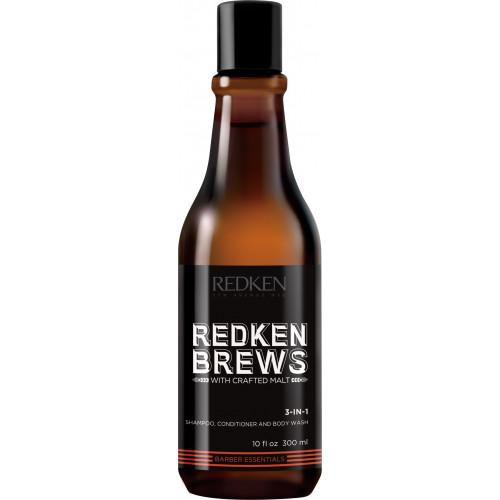 L'Oréal Redken Brews 3-In-1 Shampoo