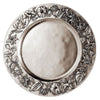 Alassio Charger - 33 cm Diameter - Handcrafted in Italy - Pewter