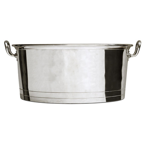 Andrea Doria Champagne Bucket - 50 cm Diameter - Handcrafted in Italy - Pewter