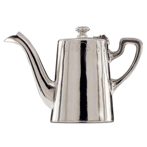 Andrea Doria Coffee Pot - 45 cl - Handcrafted in Italy - Pewter