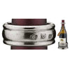 Bellevue Wine Collar - Handcrafted in Italy - Pewter