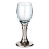 Botticino Liqueur Glass (Set of 2) - 6.5 cl - Handcrafted in Italy - Pewter & Glass