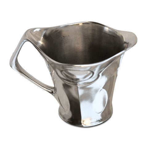 Art Nouveau-Style Celtic Milk Pitcher - 6.5 cm - Handcrafted in Italy - Pewter/Britannia Metal