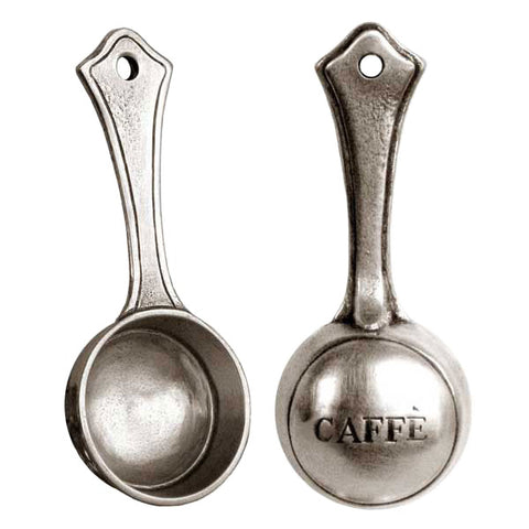 Convivio Coffee Scoop - 11 cm - Handcrafted in Italy - Pewter