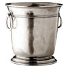 Erbusco Wine Cooler - 19.5 cm Height - Handcrafted in Italy - Pewter