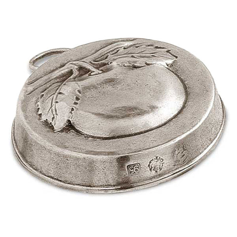 Frutta Apple Chocolate Mould - 9.5 cm Diameter - Handcrafted in Italy - Pewter