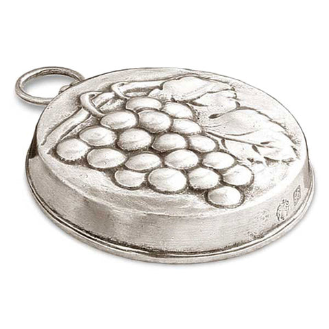 Frutta Grapes Chocolate Mould - 9.5 cm Diameter - Handcrafted in Italy - Pewter