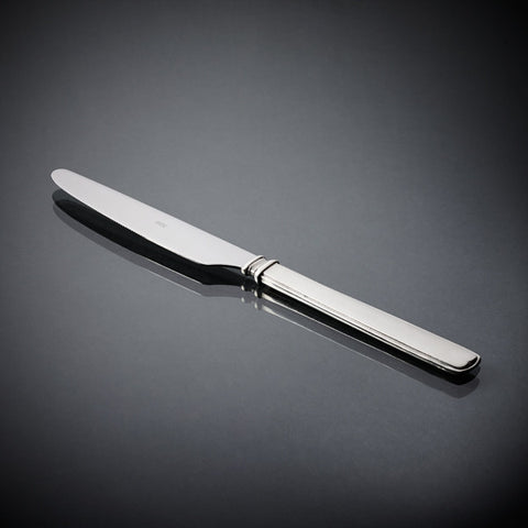 Gabriella Starter/Dessert Knife Set (Set of 6) - 20.5 cm - Handcrafted in Italy - Pewter & Stainless Steel