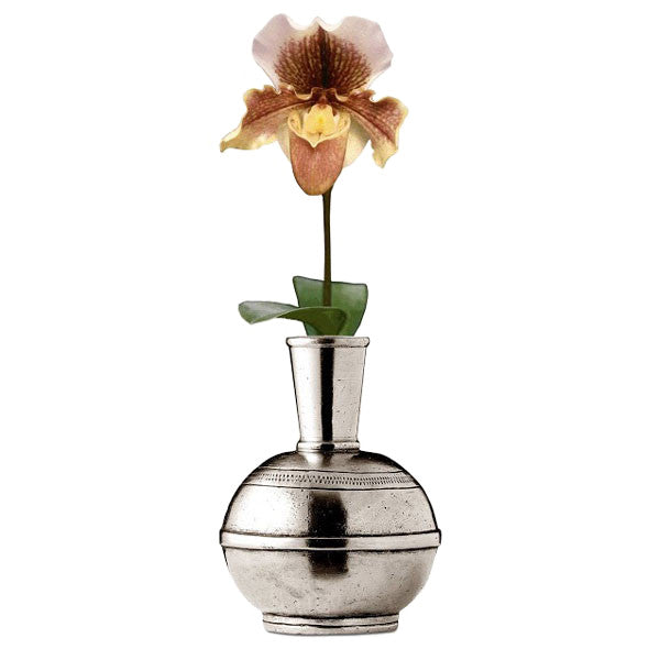 Germoglio Bud Vase 12 Cm Height Handcrafted In Italy Pewter