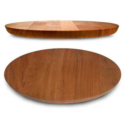 Lombardia  Cutting Board - Diameter 39.5 cm - Handcrafted in Italy - Cherry Wood