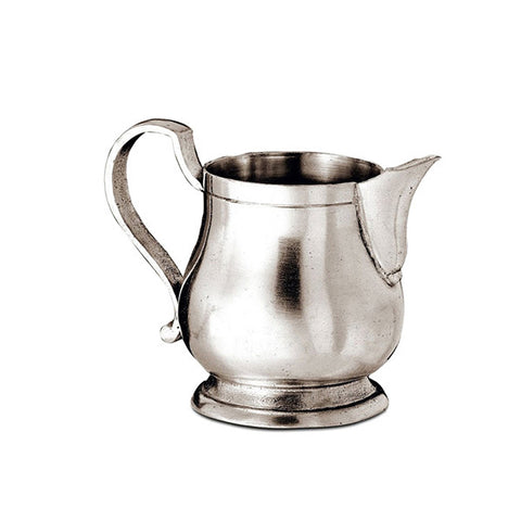 Loreto Milk Jug / Creamer - 13 cl - Handcrafted in Italy - Pewter