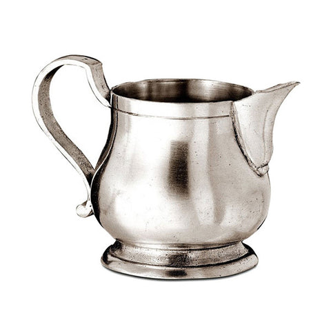 Loreto Milk Jug - 28 cl - Handcrafted in Italy - Pewter