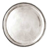 Loreto Round Tray - 37.5 cm Diameter - Handcrafted in Italy - Pewter