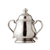 Loreto Sugar Pot - 13 cm Height - Handcrafted in Italy - Pewter
