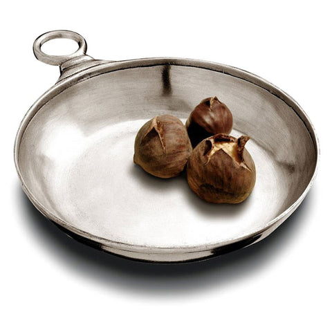Lugana Bowl / Tastevin - 17 cm Diameter - Handcrafted in Italy - Pewter