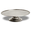 Loreto Cake or Cheese Stand - 32.5 cm Diameter - Handcrafted in Italy - Pewter