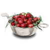 Norvegia Bowl / Tastevin (double handled) - 13.5 cm Diameter - Handcrafted in Italy - Pewter