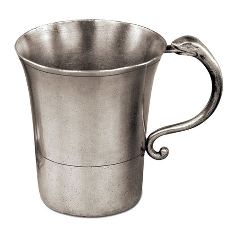 Norvegia Tankard - 45 cl - Handcrafted in Italy - Pewter